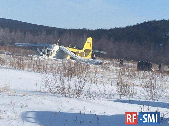 В Магадане упал самолет АН-2