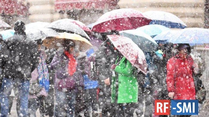 Непогода на Украине: 251 населенный пункт остался без электричества