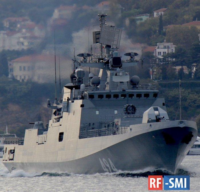 Турция не стала закрывать Босфор для русских военных кораблей