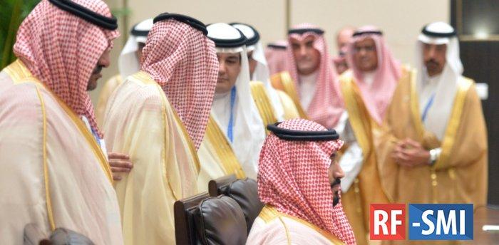 Саудовские принцы поплатились за падение цен на нефть