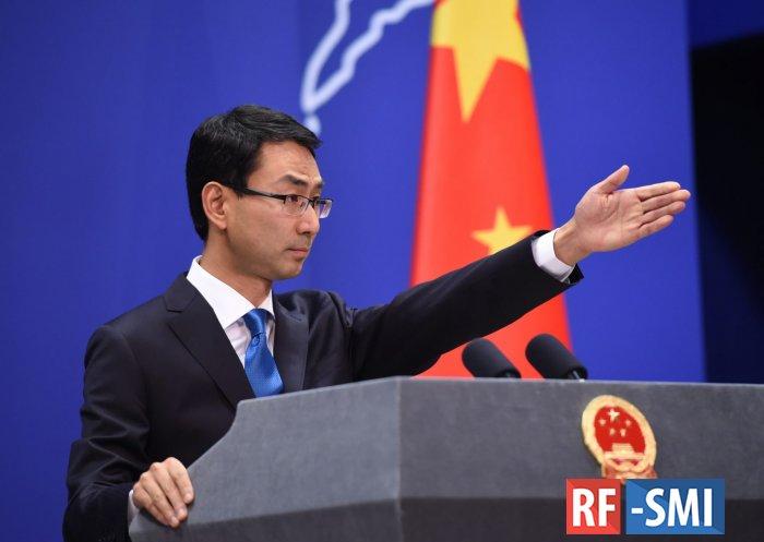 Китай обиделся на США из-за коронавируса.....