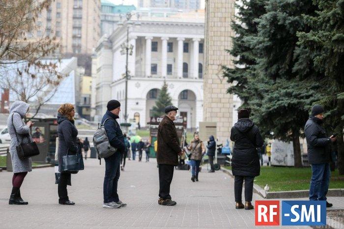 На Украине посчитали количество людей потерявших работу