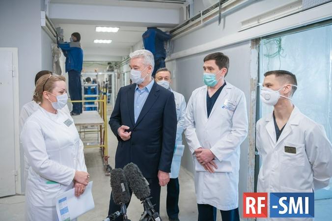 В Москве оборудуют дополнительные места для пациентов с коронавирусом