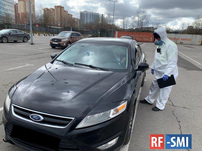 Еще один коронавирусный имбецил пойман за рулем в Москве
