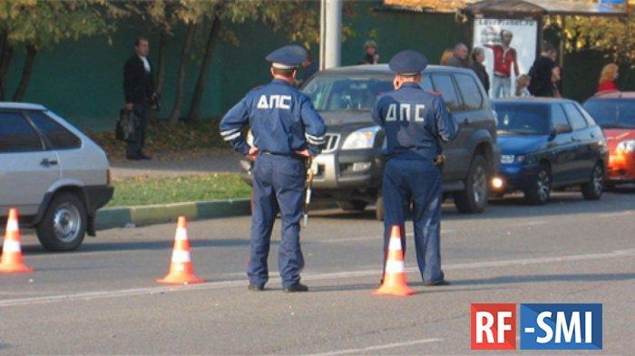 ГИБДД усилила наряды на въездах в Москву