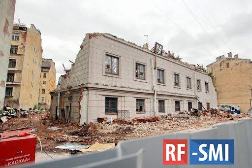 В Петербурге сносят здания АТС ради строительства жилья