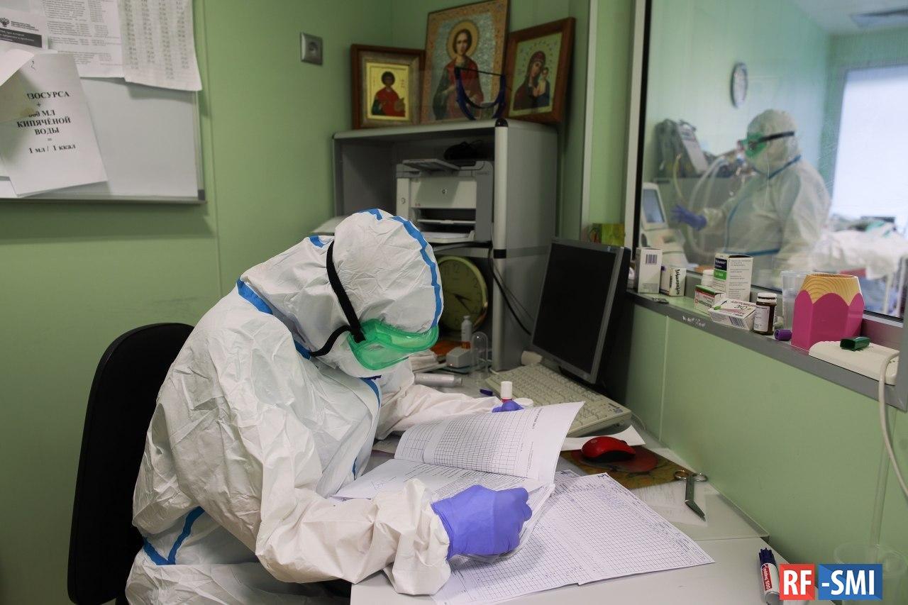 За сутки в России выявлено 8894 новых случаев коронавируса