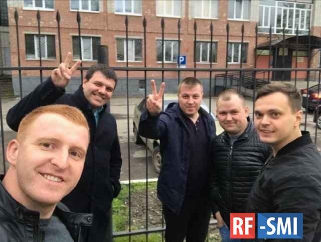 Новгородские оперативники освобождены из под стражи