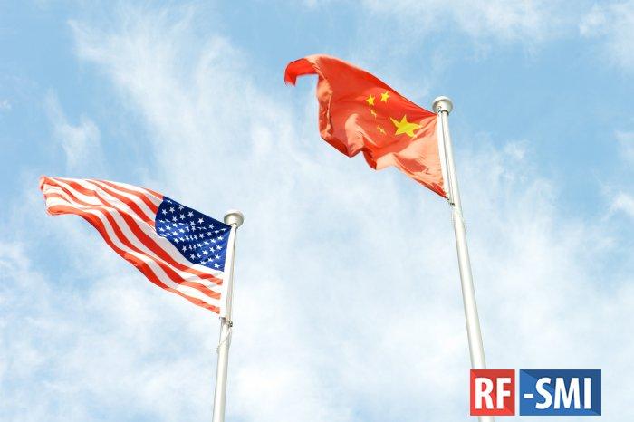 В США допустили введение новых санкций против Китая
