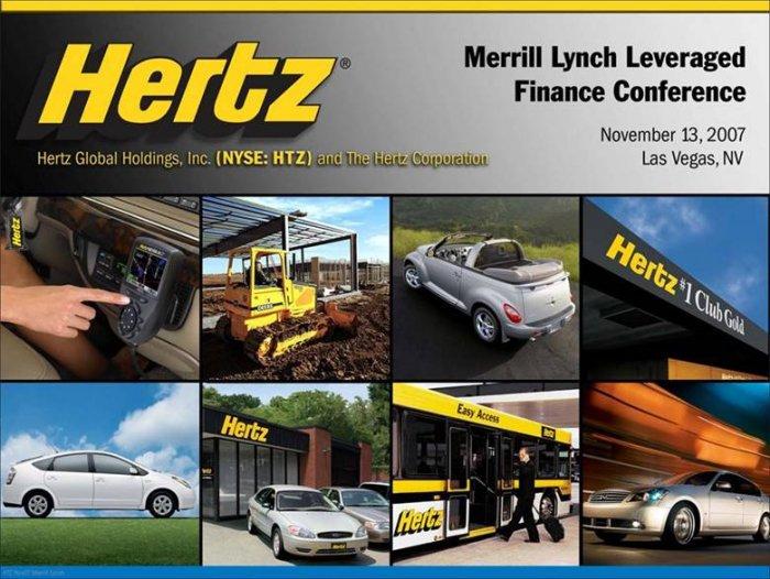 Hertz подала заявление о банкротстве из-за COVID