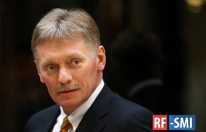 В Кремле назвали невозможным участие Путина в испытании вакцины от COVID