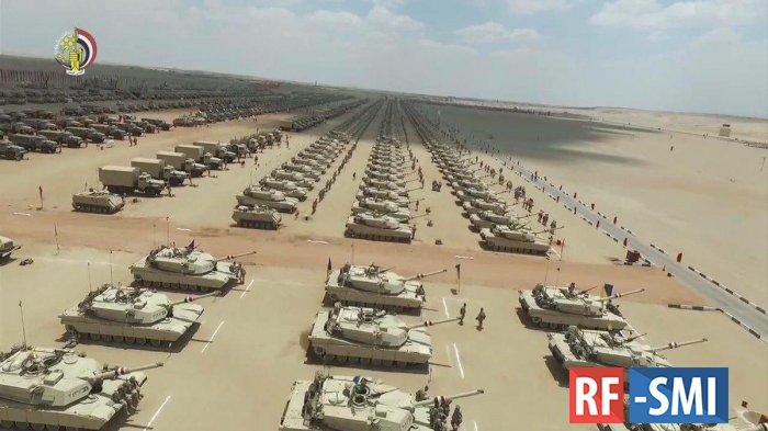 Египетский генерал: Если Турция тронет «Джуфру», мы введём войска в Ливию