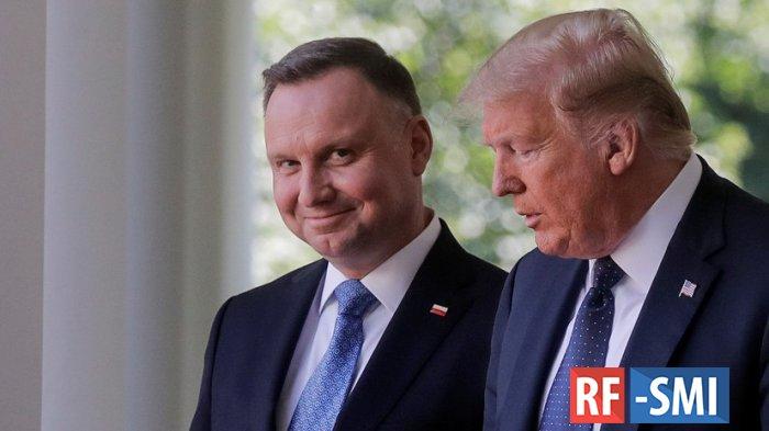 Дуда договорился с Трампом о переводе части американских войск из Германии в Польшу