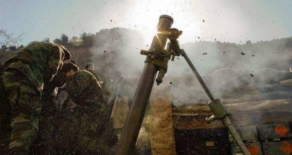 Армия ЛНР уничтожает позиции и технику ВСУ
