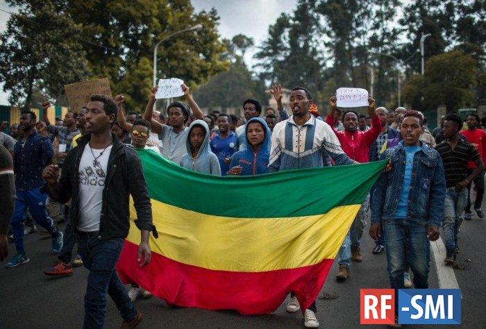 Больше 80 человек погибли в Эфиопии в результате столкновений с полицией