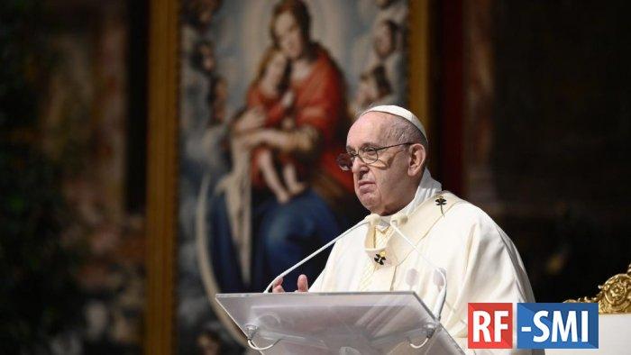 Папа Римский осудил триполитанский режим и ужасные условия содержания в тюрьмах ПНС