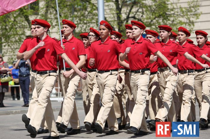 Ростовские юнармейцы получили новое обмундирование