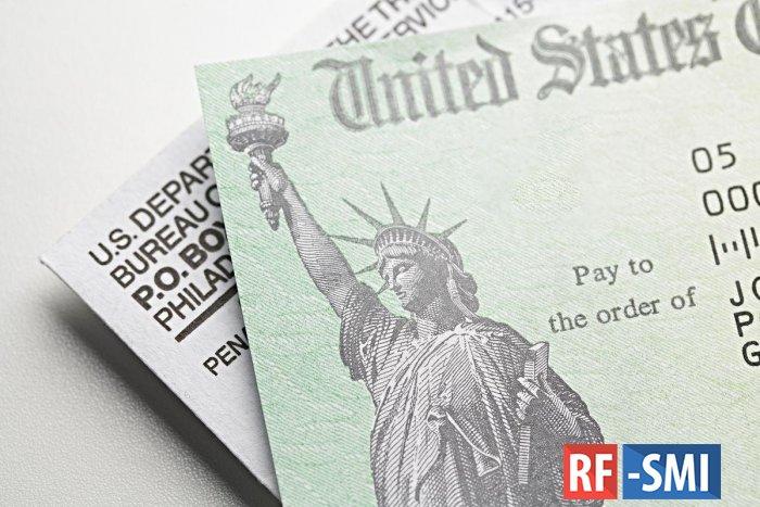 Американцам снова выплатят по $1200 из-за коронавируса