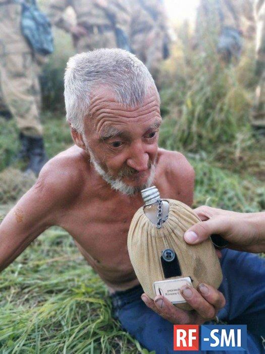 Росгвардейцы нашли 62-летнего мужчину, который 6 дней блуждал в лесу