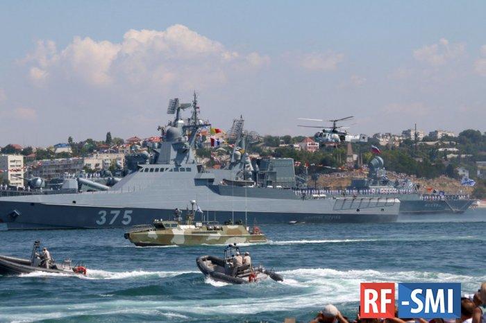 Украина пожаловалась генсеку ООН на морской парад в Севастополе