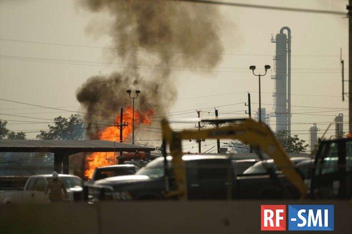 На заводе по производству СПГ в Техасе произошел взрыв