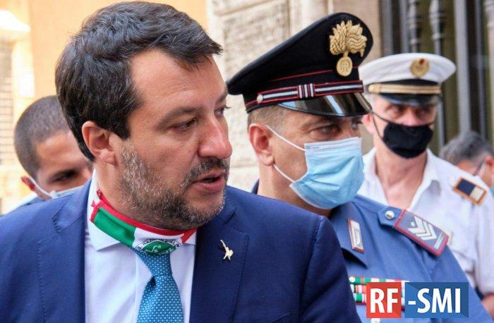 15 лет тюрьмы грозит экс-главе МВД Италии Маттео Сальвини — Le Monde