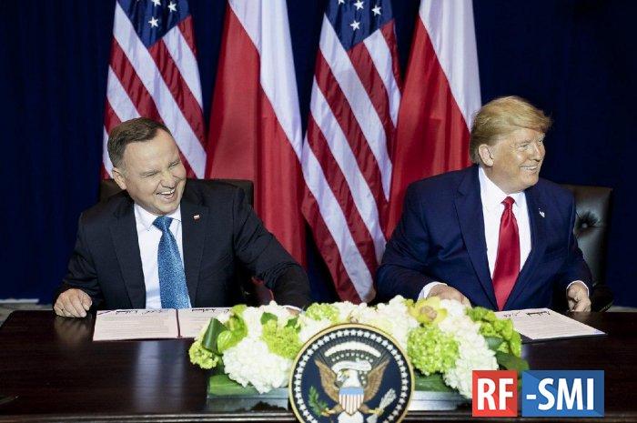 Американские военные в Польше будут неподсудны Варшаве