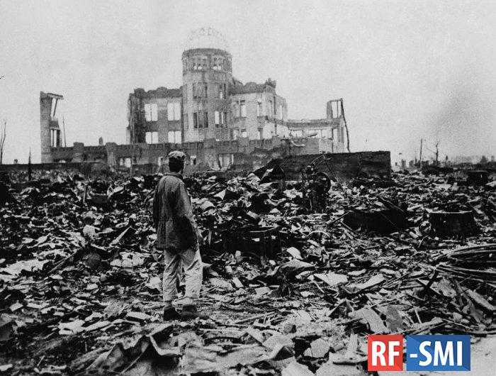 Молодые японские националисты винят в ядерных бомбардировках Россию