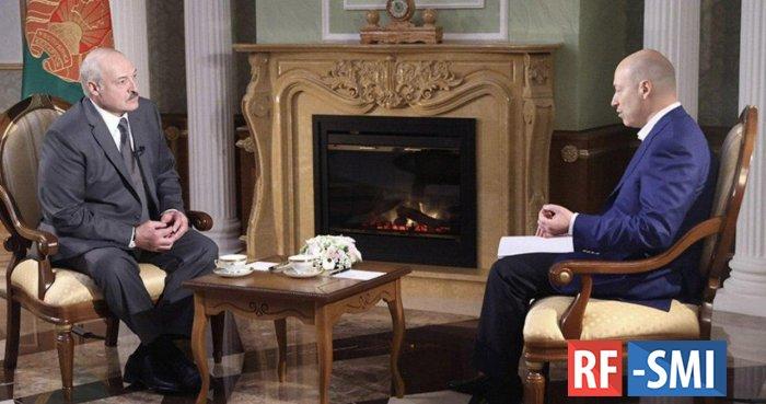 Президент Белоруссии Лукашеко дал большое интервью Гордону
