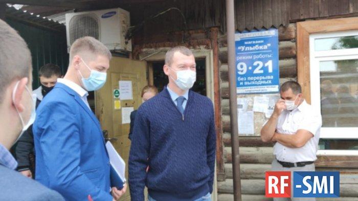 Врио губернатора Хабаровского края устроил разнос чиновникам Верхнебуреинского района