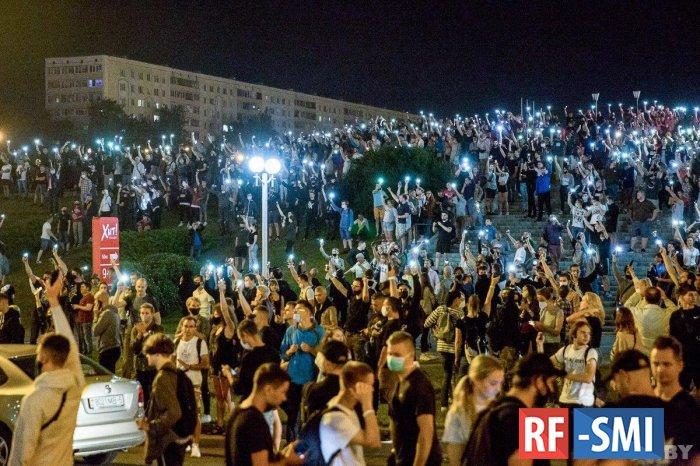 В Белоруссии были задержаны координаторы акций протеста