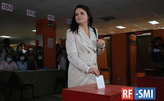 Тихановская призвала белорусов прекратить протесты