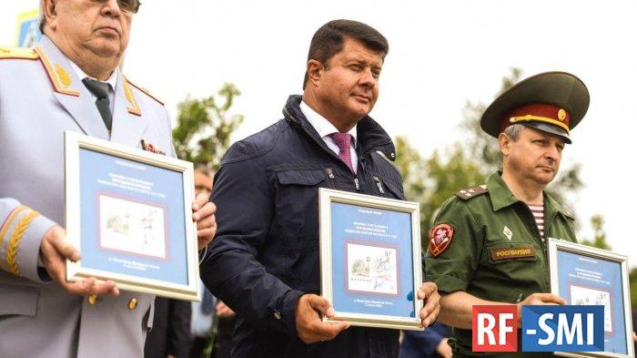 Монумент милиционерам, погибшим при обороне Москвы, открыли в Солнечногорске