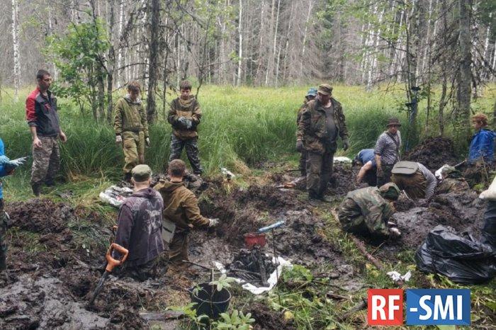 Под Петербургом найдены еще четыре тела расстрелянных подростков