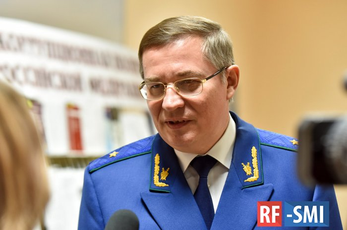 Отстранен от должности прокурор Оренбургской области А. Волков