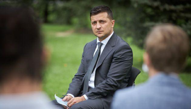 Зеленский заявил, что для него в приоритете возвращение украинских территорий