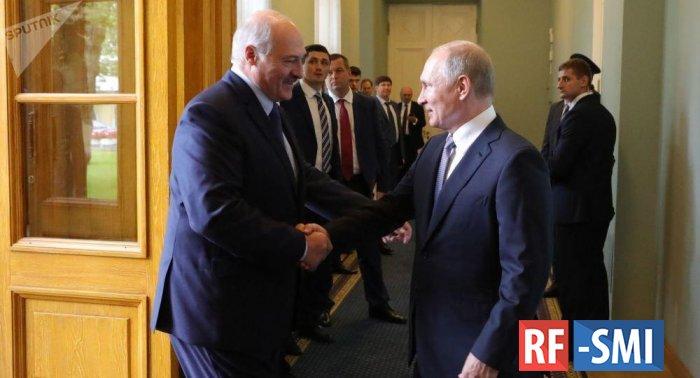 Сегодня Путин и Лукашенко встретятся в Сочи