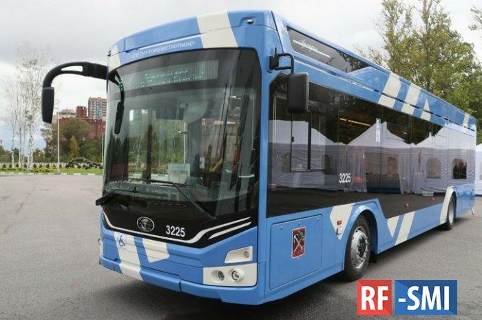 В Петербурге запустили сборочную линию по производству троллейбусов «Адмирал»