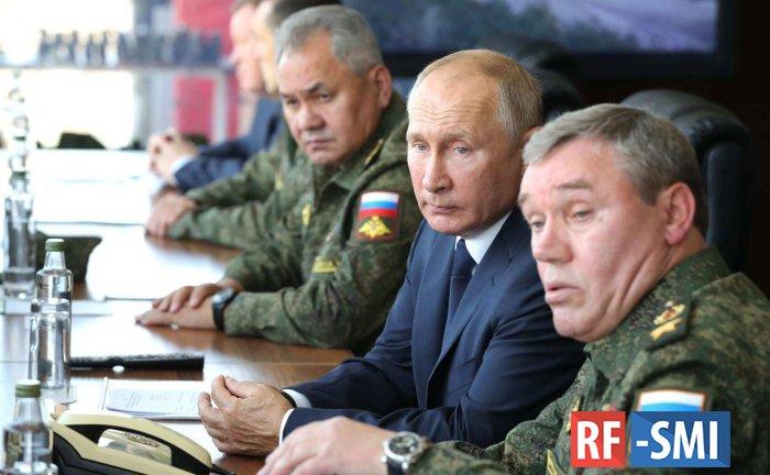 Владимир Путин прибыл на полигон Капустин Яр