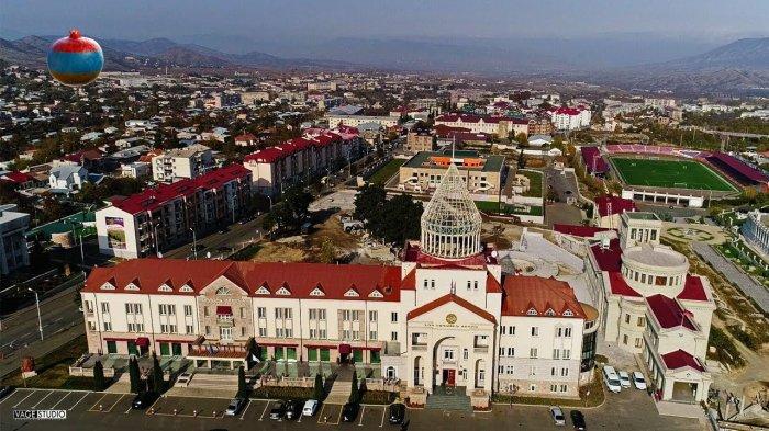 Столица Нагорного Карабаха под обстрелом ВС Азербайджана