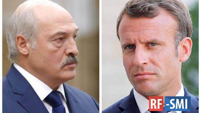 Лукашенко поставил на место Макрона