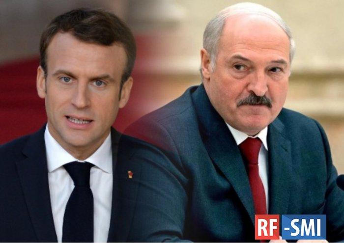 Макрон оценил невключение Лукашенко в санкционный список ЕС