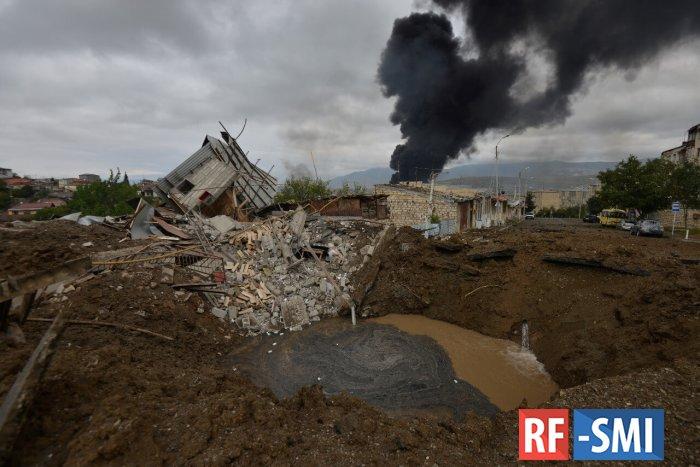 Военный конфликт в Нагорном Карабахе. Главное к утру: