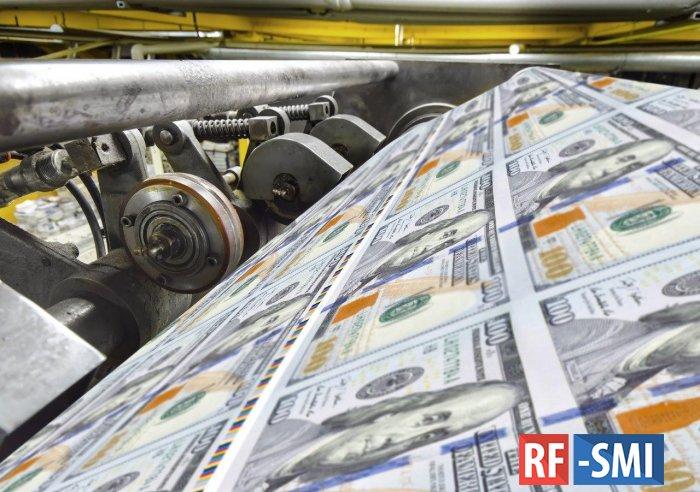 В 2020 году США напечатали 22% всех долларов