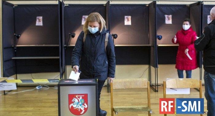 Второй тур выборов в парламент Литвы выигрывает оппозиция