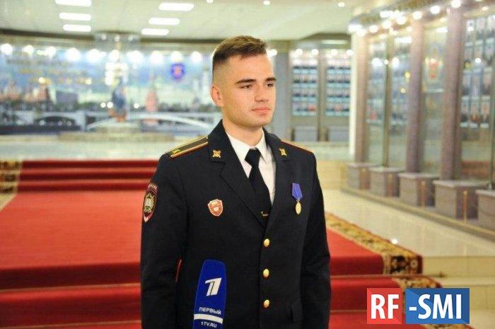 Владимир Колокольцев подписал приказ о награждении Александра Троицкого ведомственной медалью