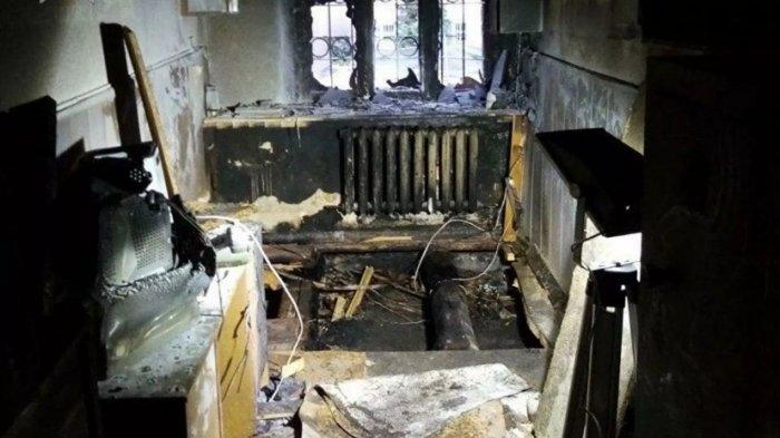Поджог здания ГАИ в Мозыре квалифицировали как акт терроризма