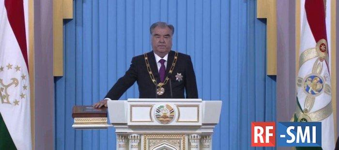 В Душанбе состоялась инаугурация Эмомали Рахмона