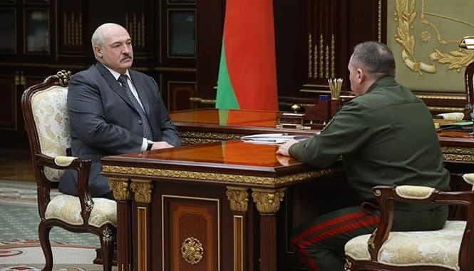 Доклад министра обороны Белоруссии Виктора Хренина