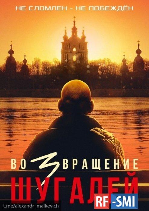 «Шугалей смотрит на Смольный собор»: Малькевич поделился многозначительным постером